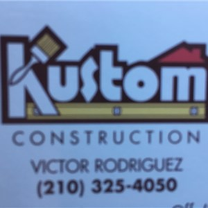 Kustom Construction Logo