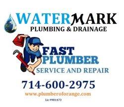 Watermark Plumbing & Drainage Logo