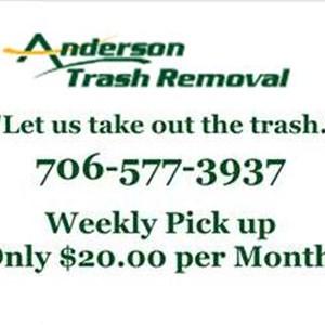 Anderson Trash Removal Logo