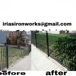 irias iron works inc Logo