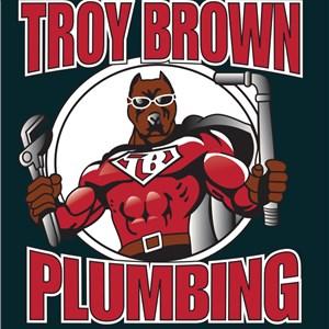Troy Brown Plumbing & Water Heater Service Logo