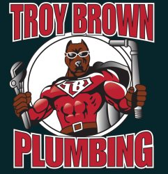 Troy Brown Plumbing & Water Heater Service Logo