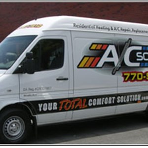 A/C Solutions Heating & Air Conditioning Logo