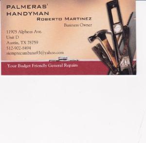 Palmeras Handyman Logo