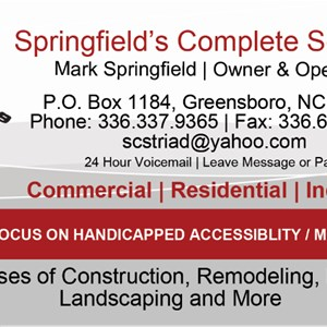 Springfields Complete Services Logo