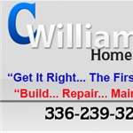 C Williams Home Repair Logo