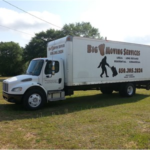 Bigfoot Moving Services Logo