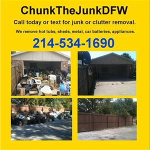 Chunk The Junk DFW Logo