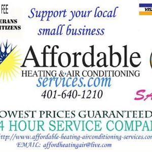 Affordable Heating Air Conditioning Services Logo