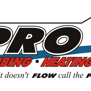 PRO PLUMBING HEATING & AIR Logo