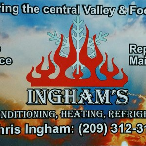 Inghams Hvac-r Logo