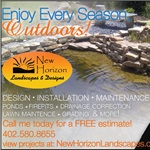 New Horizon Landscaping-design Logo