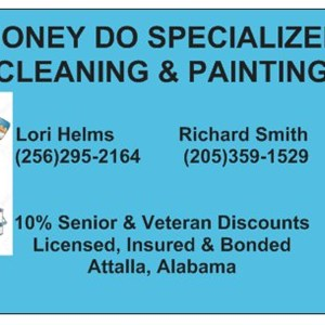 Honey Do Specialized Cleaning and Painting Logo