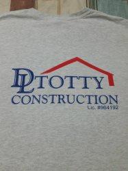 Darin Totty Construction Logo