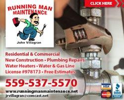 Running Man Mainterance Logo