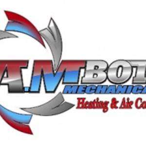 A.M Botte Mechanical Heating & Cooling Logo