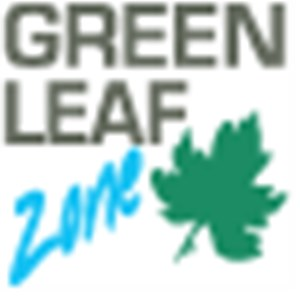 Green Leaf Zone Company Logo