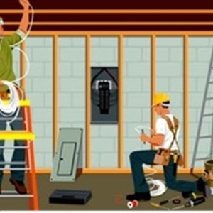 How To Price Electrical Work Contractors Logo