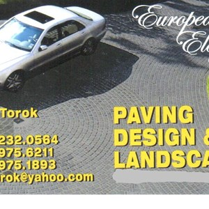 Paving Design & Landscaping Logo