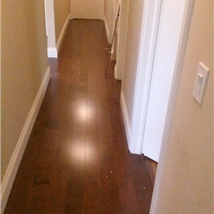 Black Hardwood Flooring