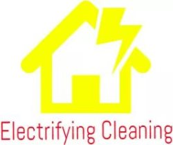 Electrifying Home Cleaning Logo