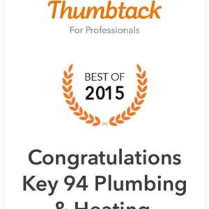 Key 94 Plumbing & Heating Logo