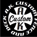 A.K. Custom Fence and Deck, LLC Logo