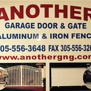 Another Garage & Gate Inc. Logo