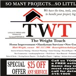 The Wright Touch Logo