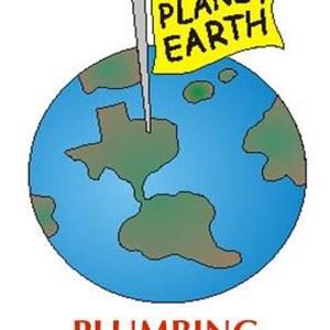 Planet Earth Plumbing Company Logo