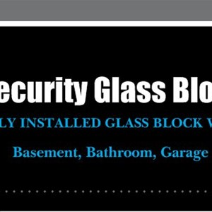 Security Glass Block Cover Photo