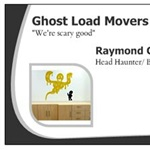 Ghost Load Movers Logo