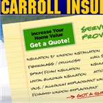 Carroll Insulation And Window CO Logo