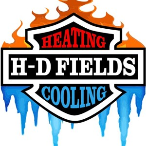H-d Fields Heating And Cooling Inc. Logo