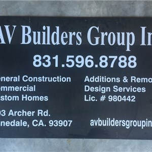AV Builders Group inc. Logo