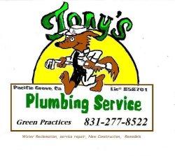 Tonys Plumbing Logo