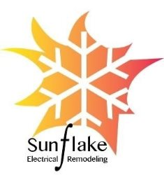 Sunflake Electrical and Remodeling Logo