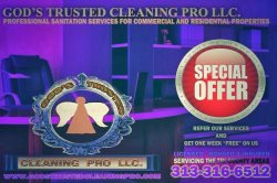 Gods Trusted Cleaning Pro L.l.c. Logo