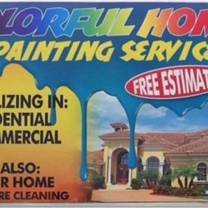 Colorful Home Painting Services Cover Photo