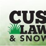 Custom Lawn Care & Snow Rmvl Logo