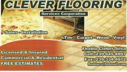 Clever Flooring / Gasparetto Services Corp Logo