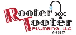 Rooter Tooter Plumbing Logo