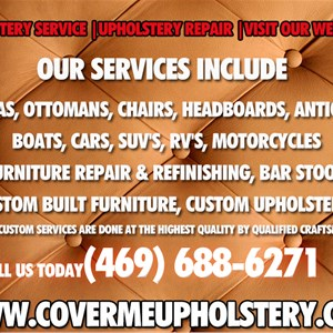 Cover ME Upholstery Cover Photo