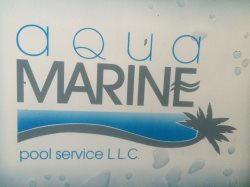 Aqua Marine Pool Service Logo