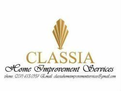 Classia Painting & Home Improvement Services. Logo