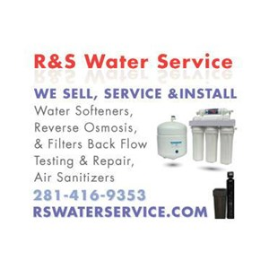 R & S Water Service Logo