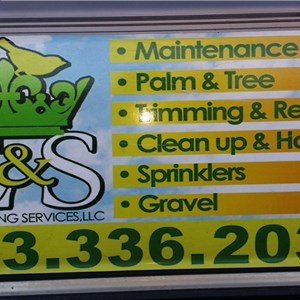 E & S Landscaping Services LLC Logo