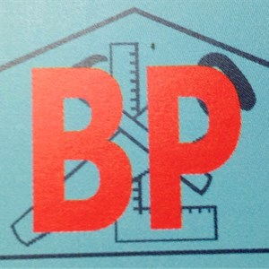 B P Construction, Inc. Logo