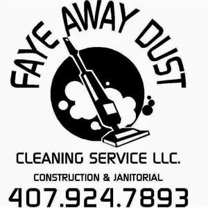 Faye Away Dust Cleaning Service Logo