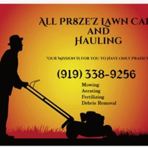 All Pr8zez Lawn Care Logo